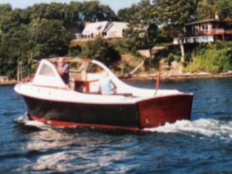1962 Eldridge Mcginnis Bass Boat