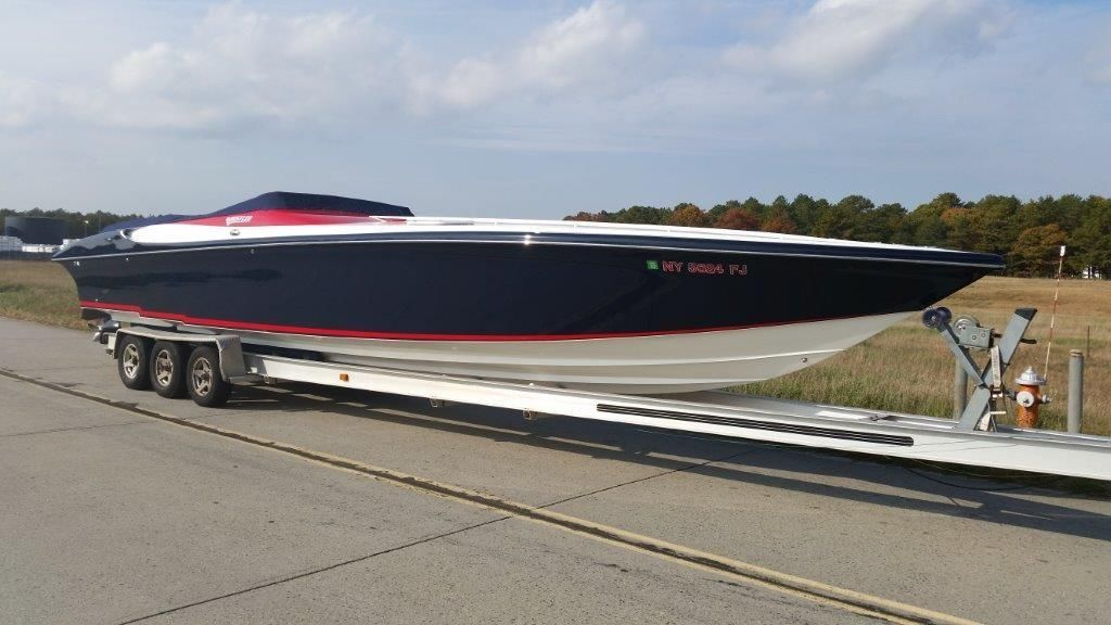 Hustler power boat for sale
