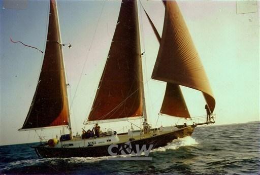 1989 Zennaro Ketch 40
