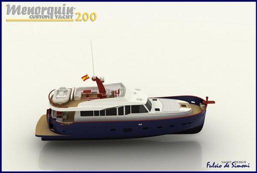 2008 Menorquin Custom Yacht 200
