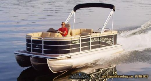 2014 Harris Flotebote 220 Cruiser with 150 HP