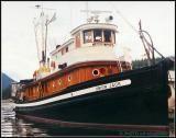 1941 Mackenzie Barge & Derrick Glen Class Tug