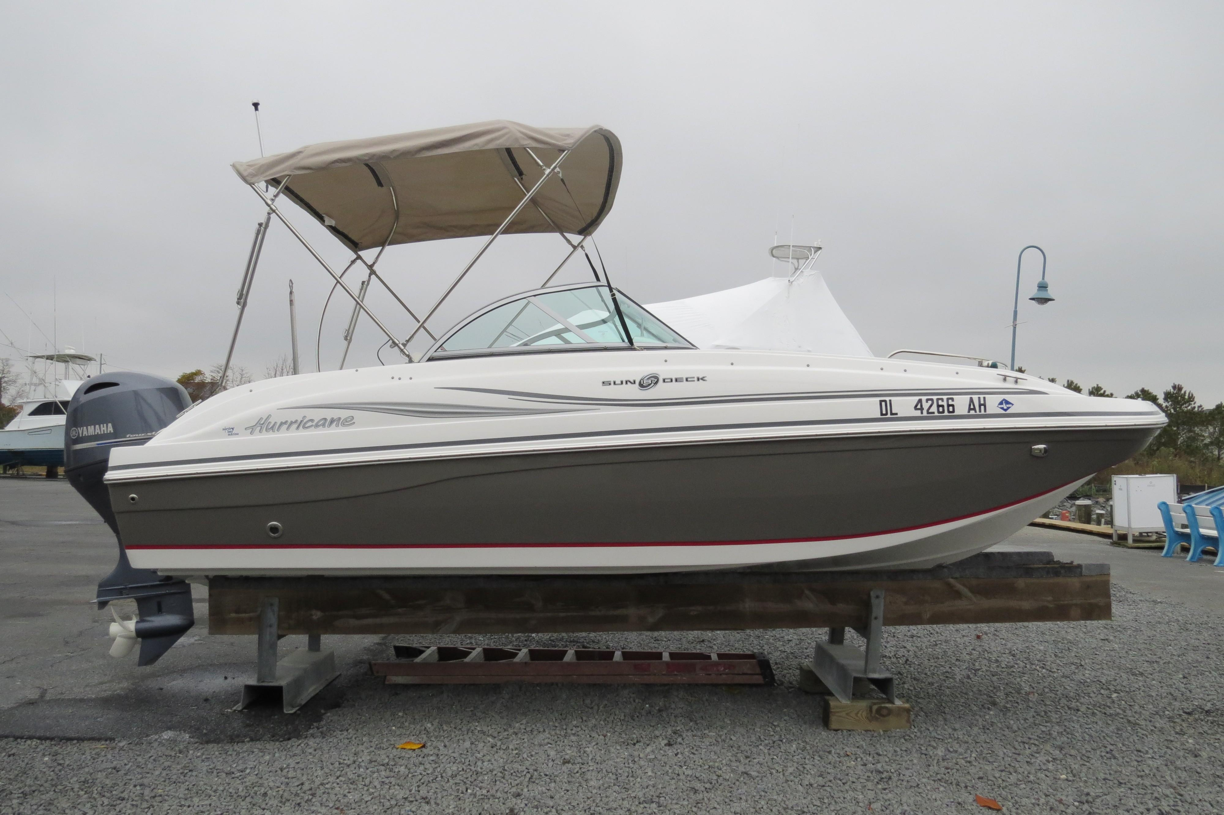 Thundercraft Boat Wiring Harness Diagrams 2015 Hurricane Sun Deck 187 Power For Sale Www Yachtworld Com Manufacturer