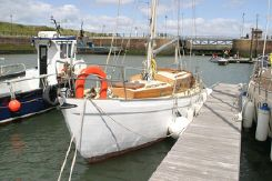 1952 Classic Vertue wooden yacht