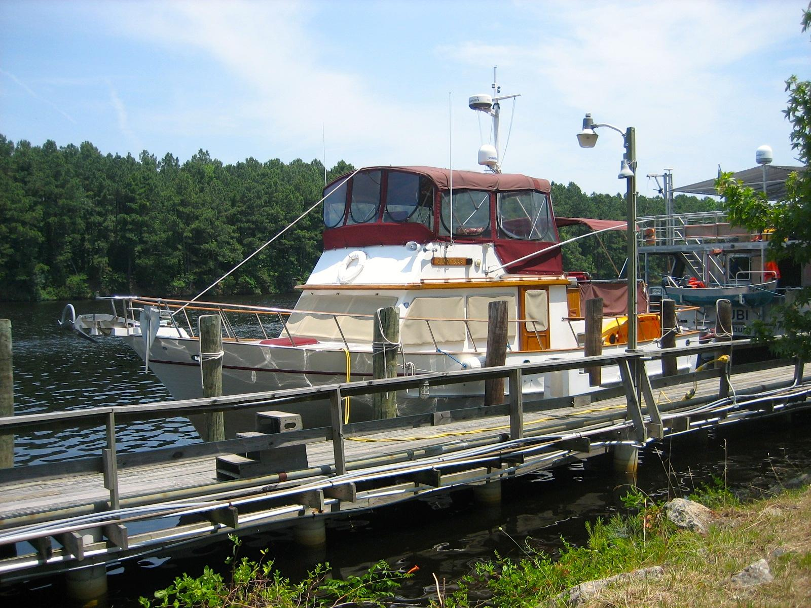 41 ft 1988 defever 41 trawler