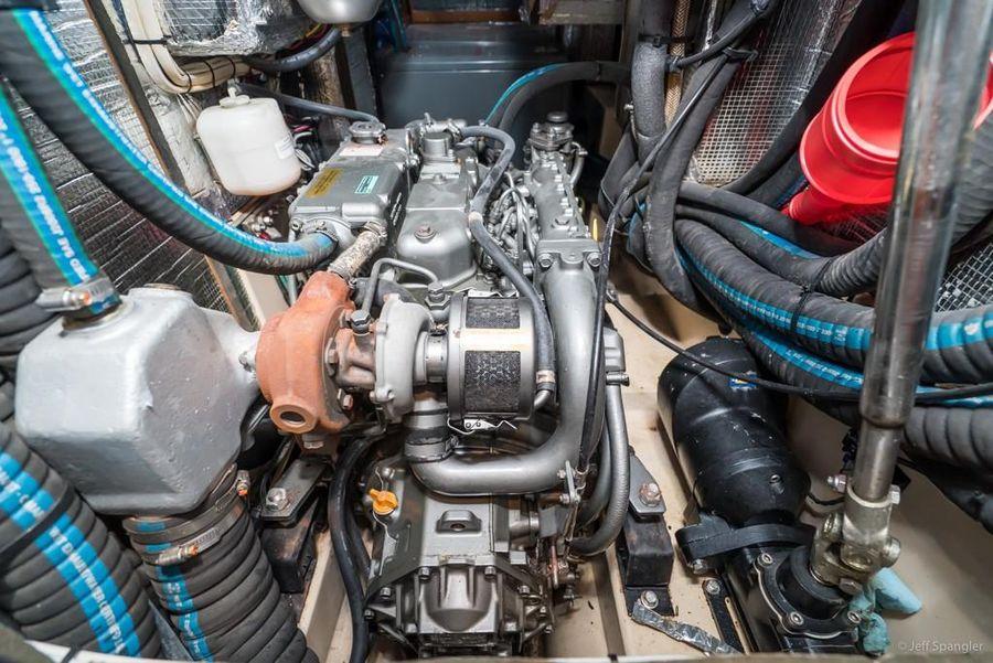 Island Packet 445 Sailboat Engine