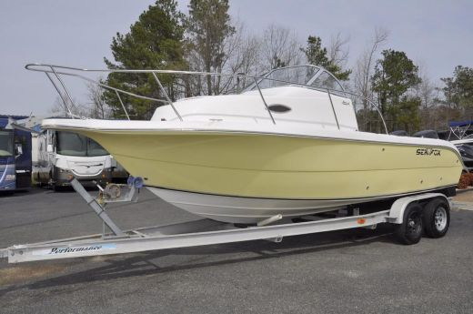 2006 Sea Fox 230 Walk Around