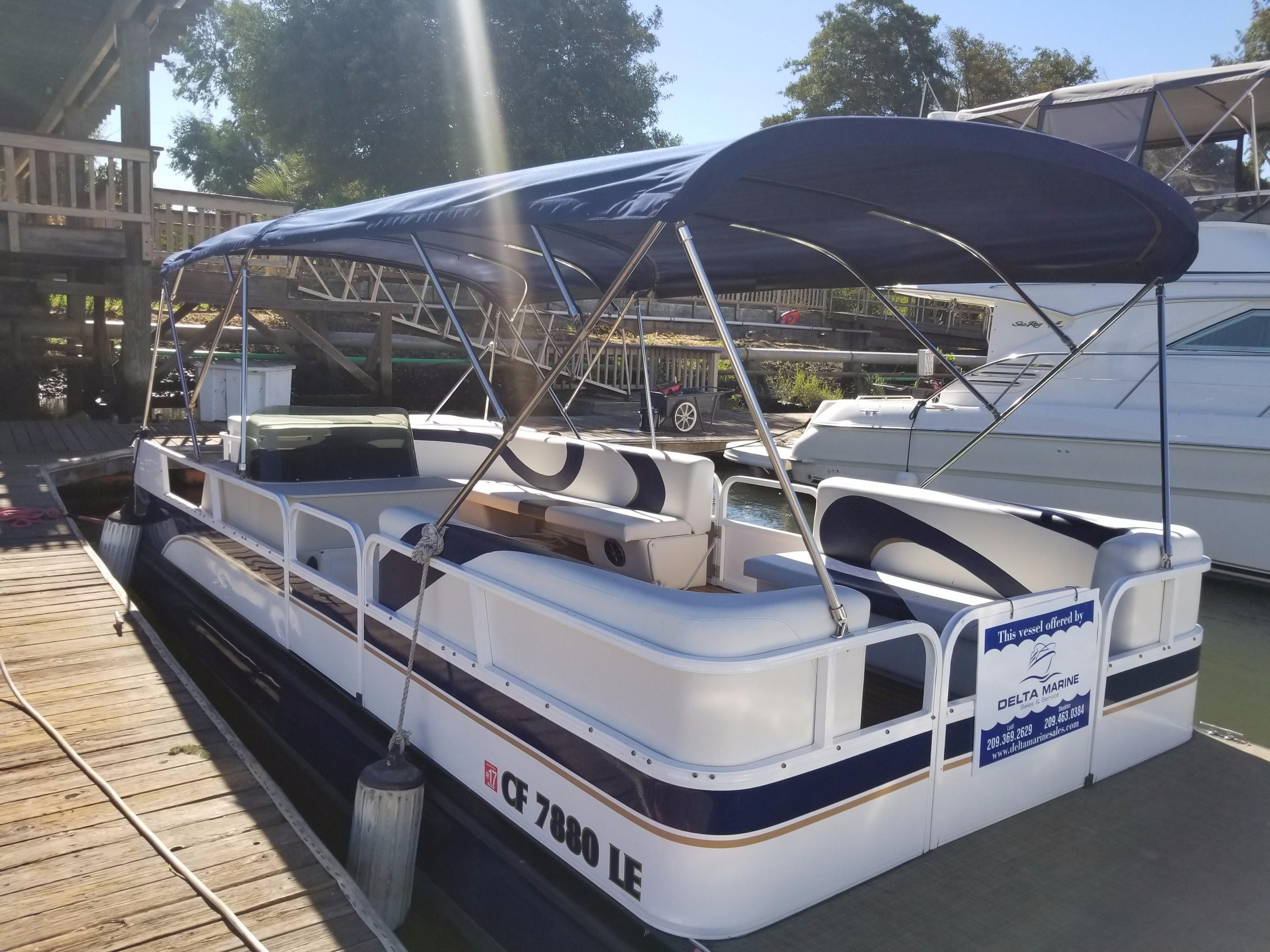 Pontoon new and used boats for sale in california for Fish and ski boats for sale craigslist