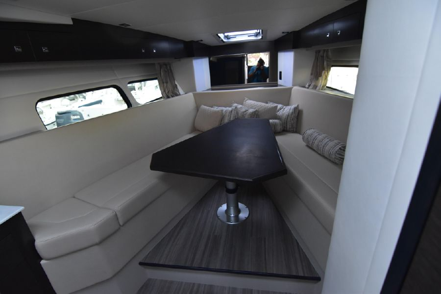 Cruisers Yachts 39 Express Coupe Interior Vee Berth
