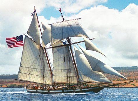 2001 Rockport Marine schooner