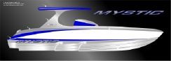 2020 Mystic Powerboats M4200