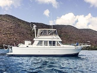 1999 Mainship 43 Trawler Aft Cabin