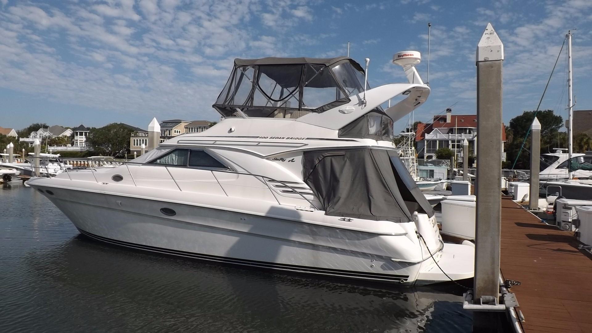 1997 sea ray 400 sedan bridge power boat for sale www yachtworld com