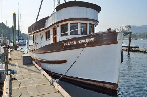1952 Matsumoto Converted Fishing Boat