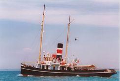 """1895 Steam Tug Schooner 1895 """"Piro Rimorchiatore Goletta"""""""