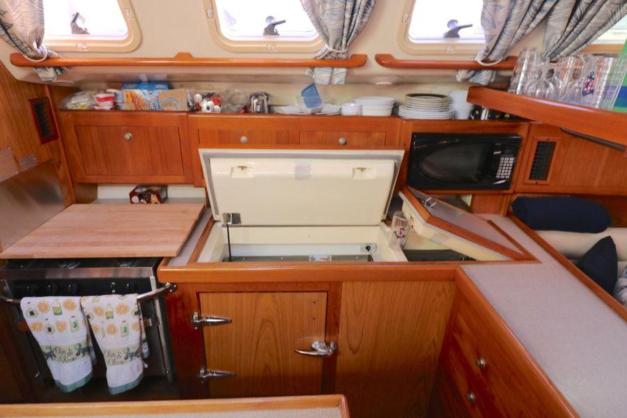 Hunter 460 Sailboat Galley Refrigerators