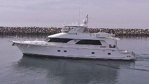 2007 Ocean Alexander 80 Cockpit Motoryacht