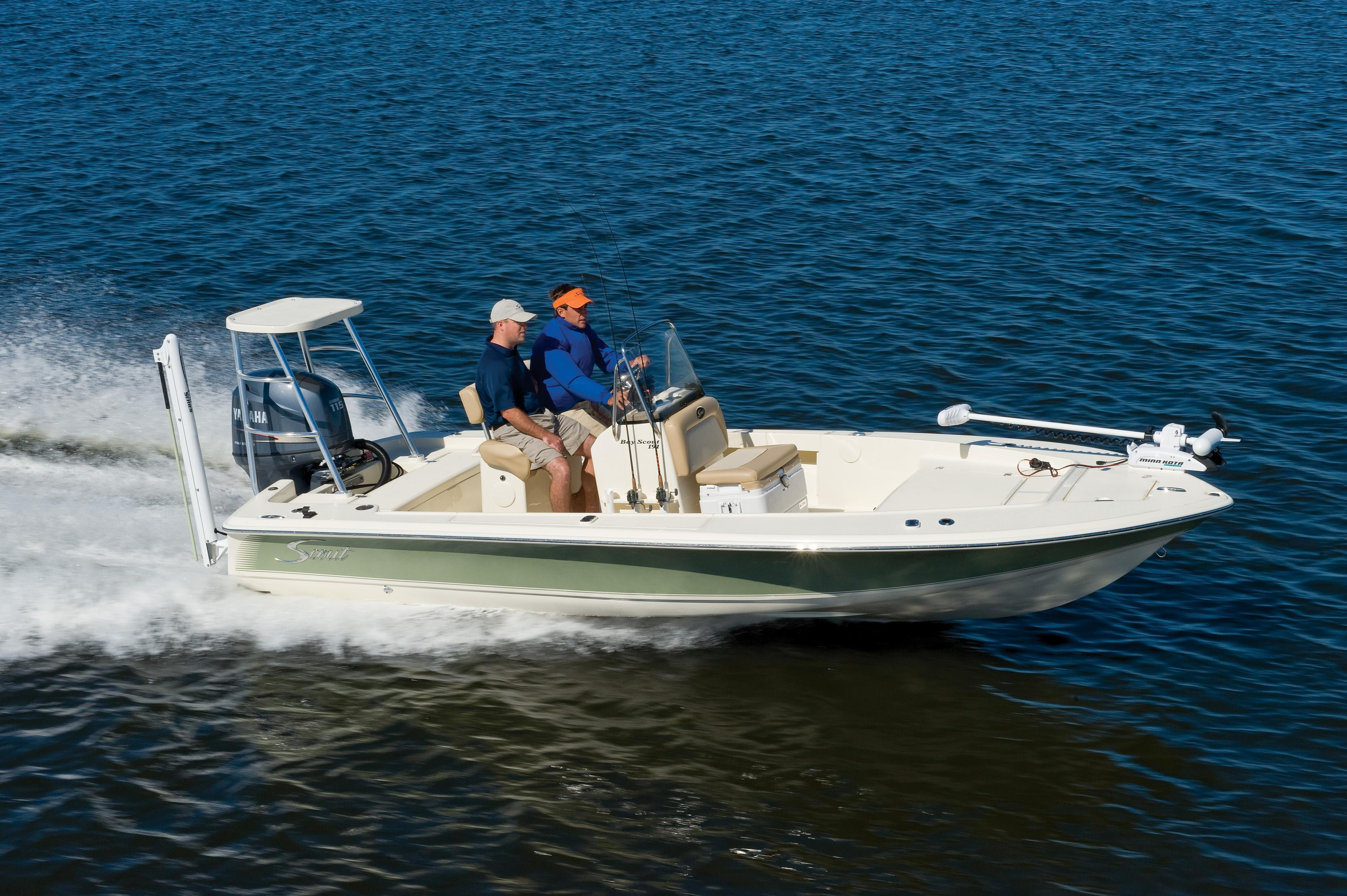 19 ft 2014 scout boats 191 bay scout