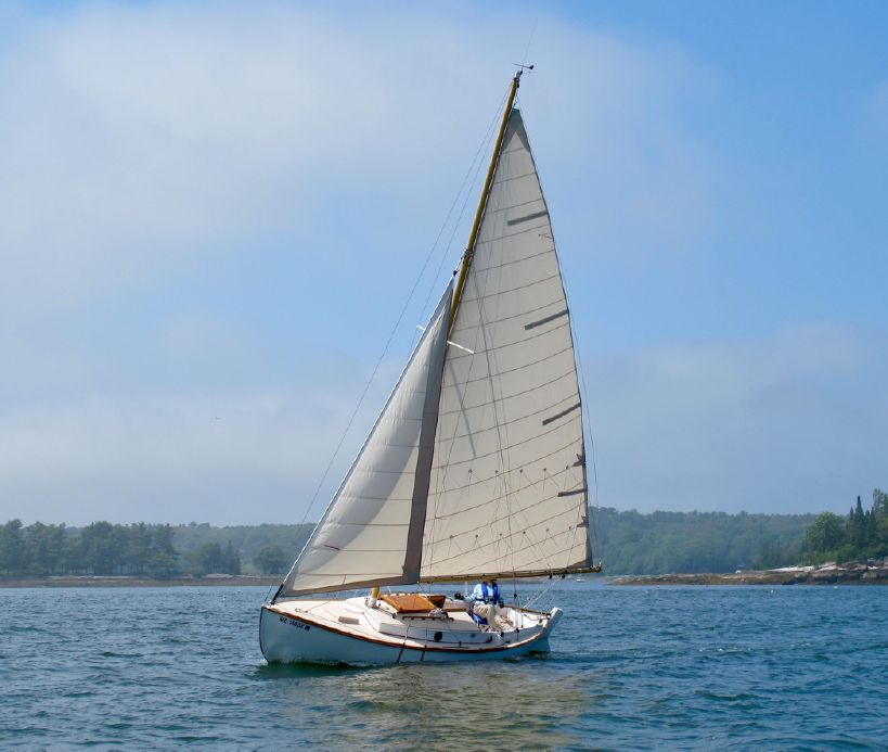 1995 Custom Fenwick Williams Alden 21 Sail Boat For Sale - www