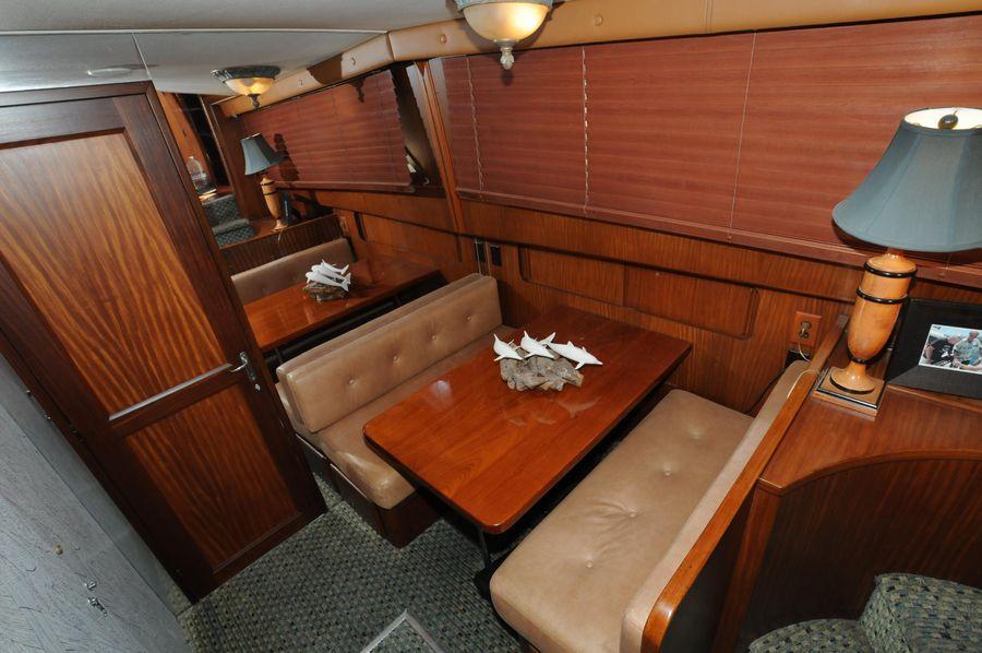 1986 Hatteras 63 Motoryacht Master Stateroom
