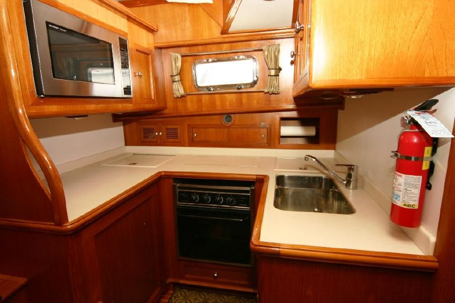 Grand Banks Eastbay 47FB Galley Kitchen