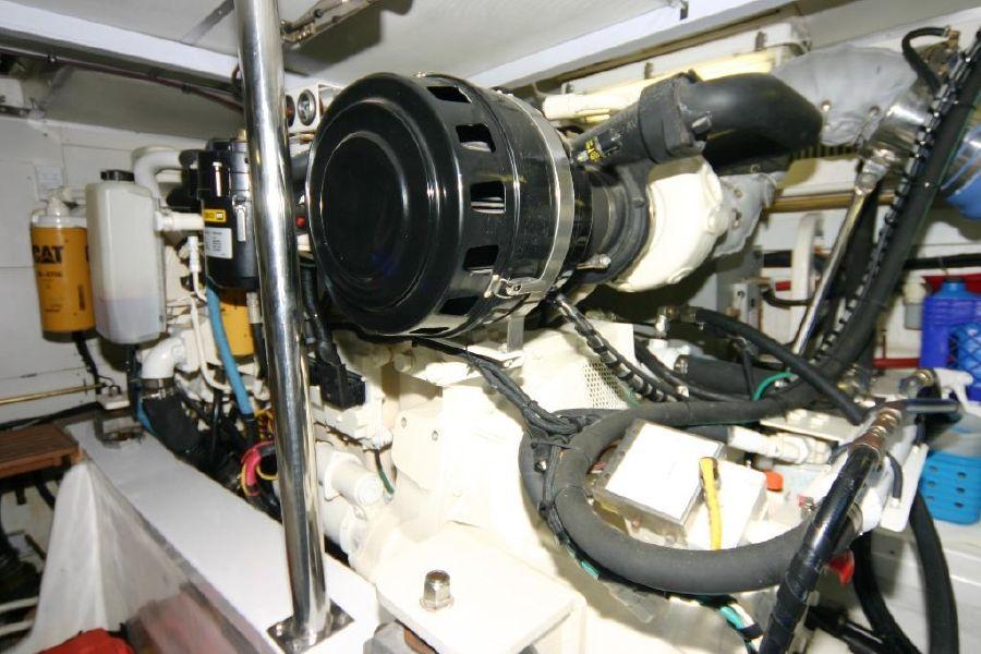Grand Banks Eastbay 47FB Engine