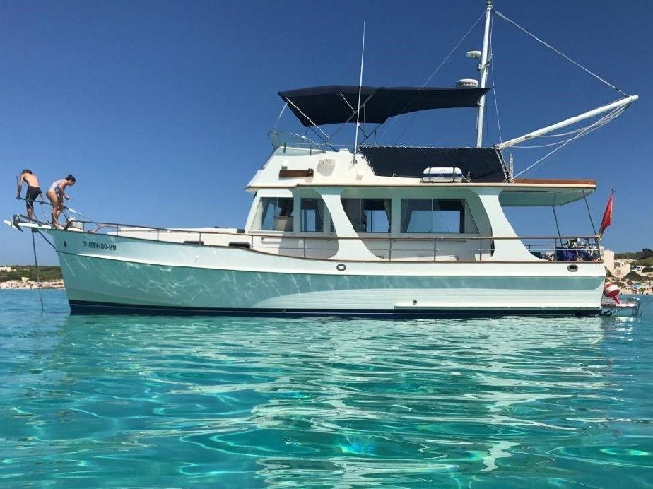 1999 Grand Banks 42 Europa Power Boat For Sale - www