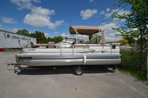 2008 Palm Beach Pontoons 240 Clearwater E-Class