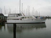 1962 Matthews Tri Cabin Motor Yacht - Comfortable Live Aboard Cruising Yacht