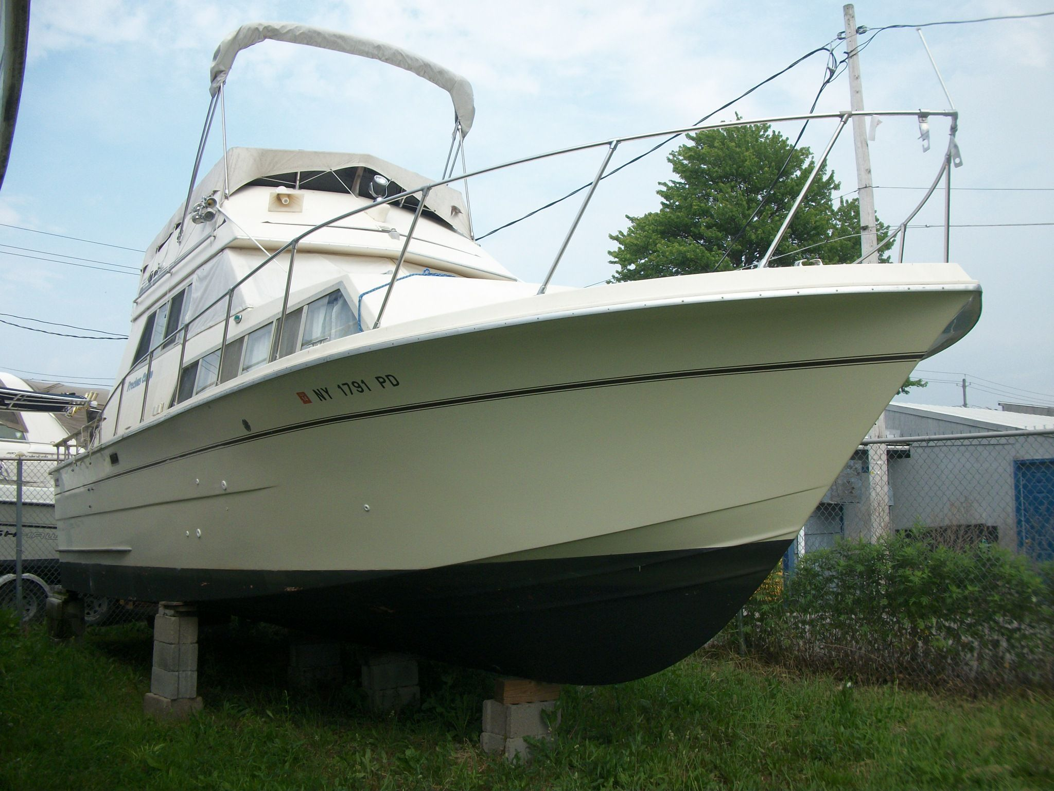 1979 Carver 33 Voyager Power Boat For Sale Www