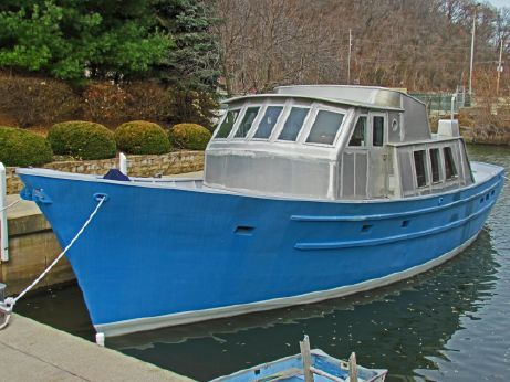2013 Seaton Trawler Long Range Custom 56