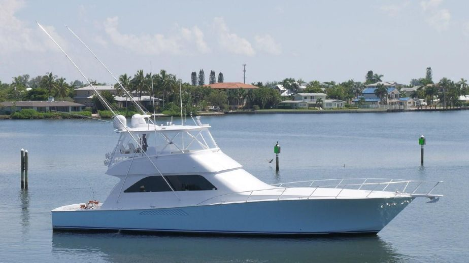 2005 Viking 61 Convertible Power Boat For Sale