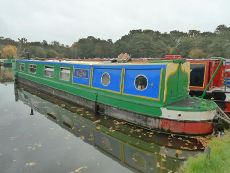 1991 Cheshire Steelcraft Narrowboat