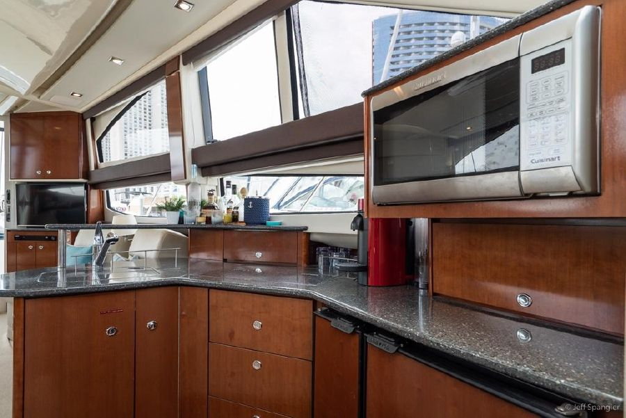 Meridian 391 Sedan Galley Kitchen