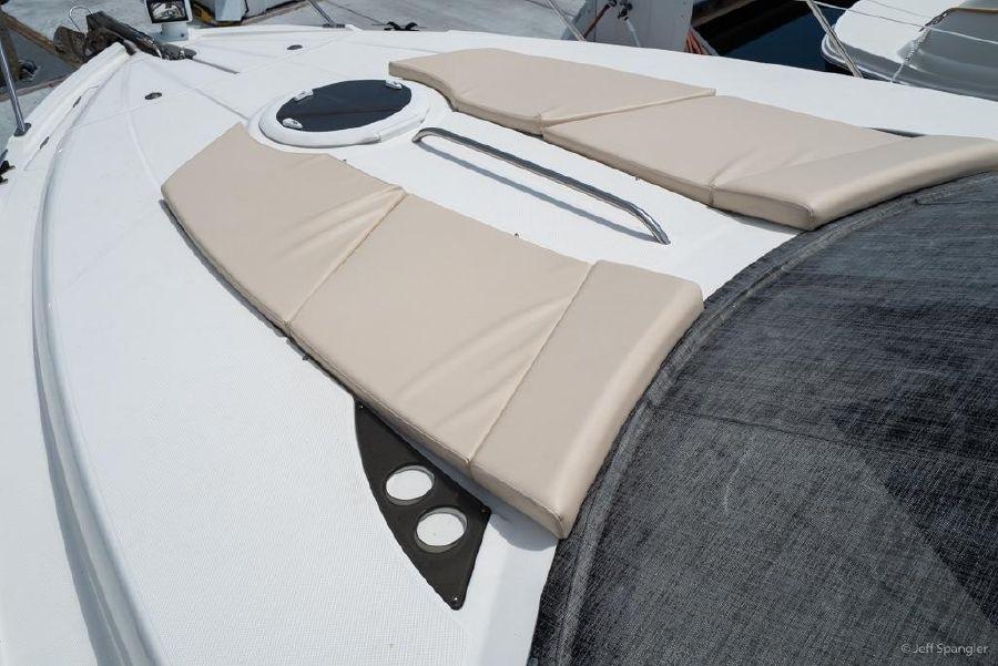 Meridian 391 Sedan Bow Cushions