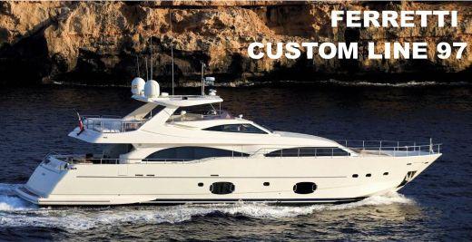 2007 Ferretti Yachts 97 Custom Line