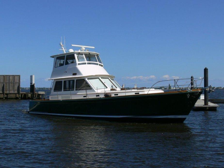1998Alden 56 Downeast Flybridge Motoryacht
