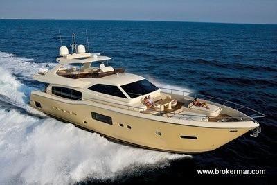 2009 Ferretti Yachts Altura 69