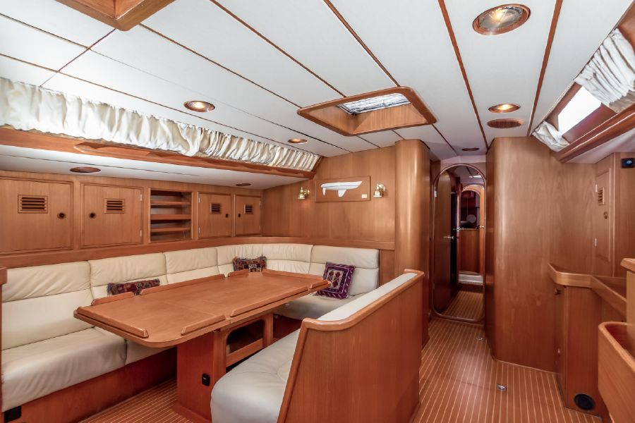 Nautor Swan 53 Interior Salon