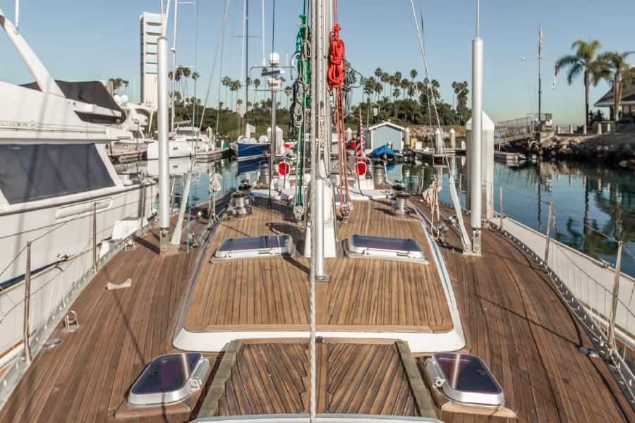 Nautor Swan 53 Sailboat Top Deck