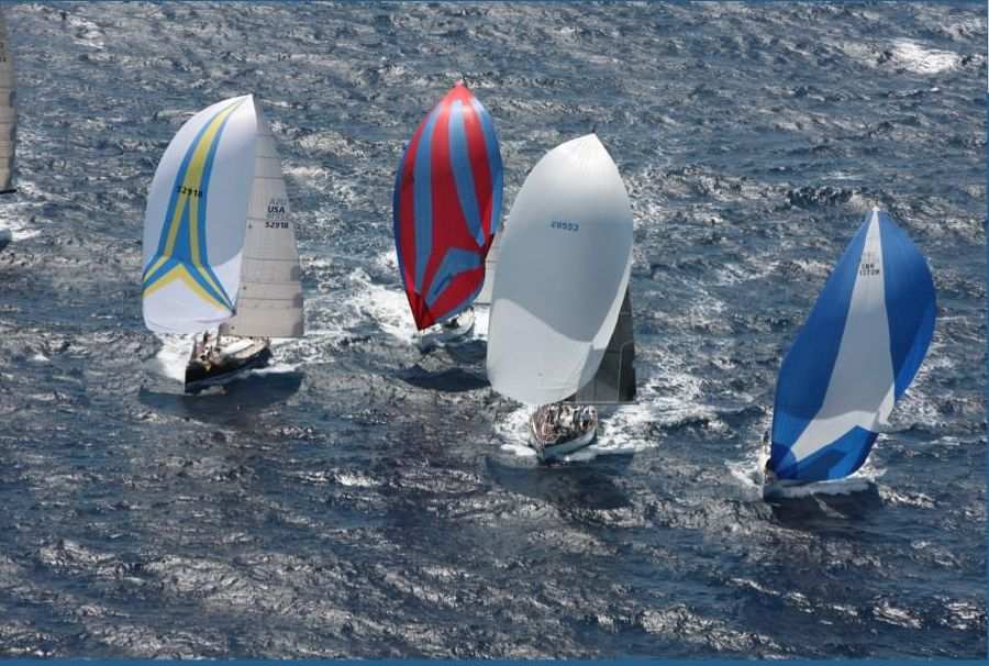 Nautor Swan Racing with Spinnaker
