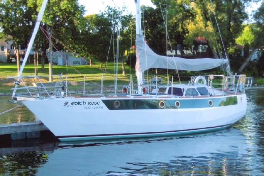 1995 Custom Cartwright 36 Pilothouse Cutter