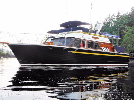 1971 Grenfell Flush Deck Cockpit Motor Yacht