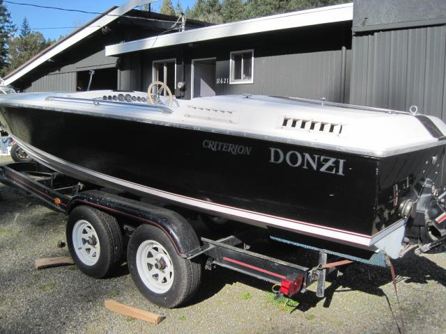 1979 Donzi Criterion F22 Power Boat For Sale