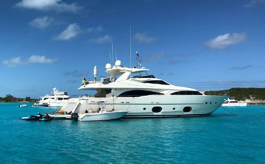 2008 Ferretti Yachts 97 Custom Line
