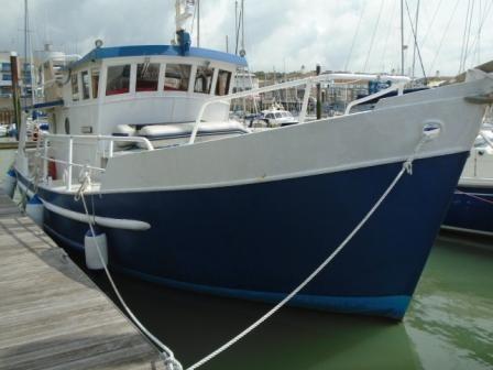 1990 John Robins Steel Trawler