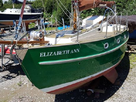 2009 Yarmouth 23 Gaff Rig Topsail Cutter