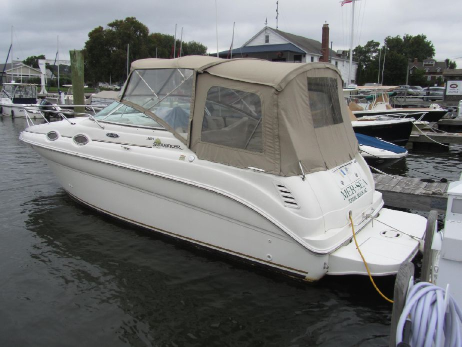 2002 Sea Ray 260 Sundancer Power New and Used Boats for Sale