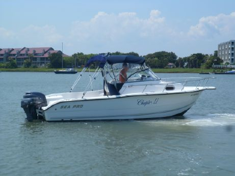 2003 Sea Pro 220 Walk Around