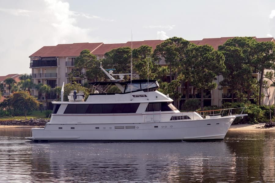 1988 hatteras 70 cockpit motor yacht power boat for sale for Hatteras 70 motor yacht